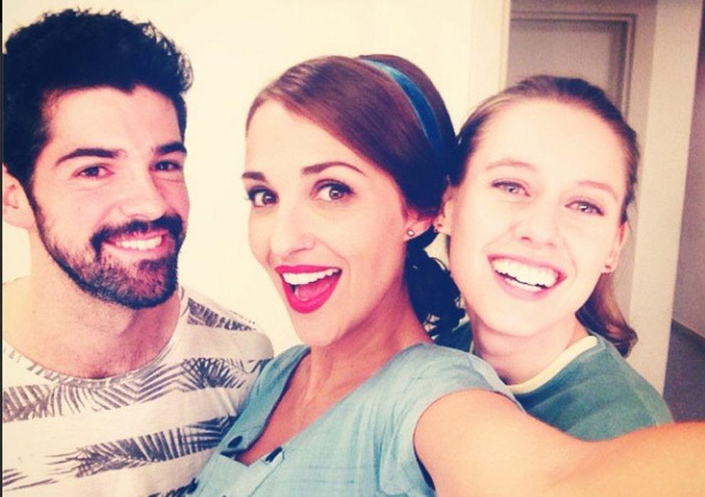 Foto: Miguel Ángel Muñoz, Paula Echevarría y Manuela Vallçes (Instagram)
