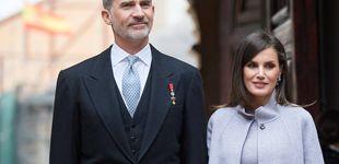 Post de Lo más atrevido del look de la reina Letizia en el Premio Cervantes son los zapatos