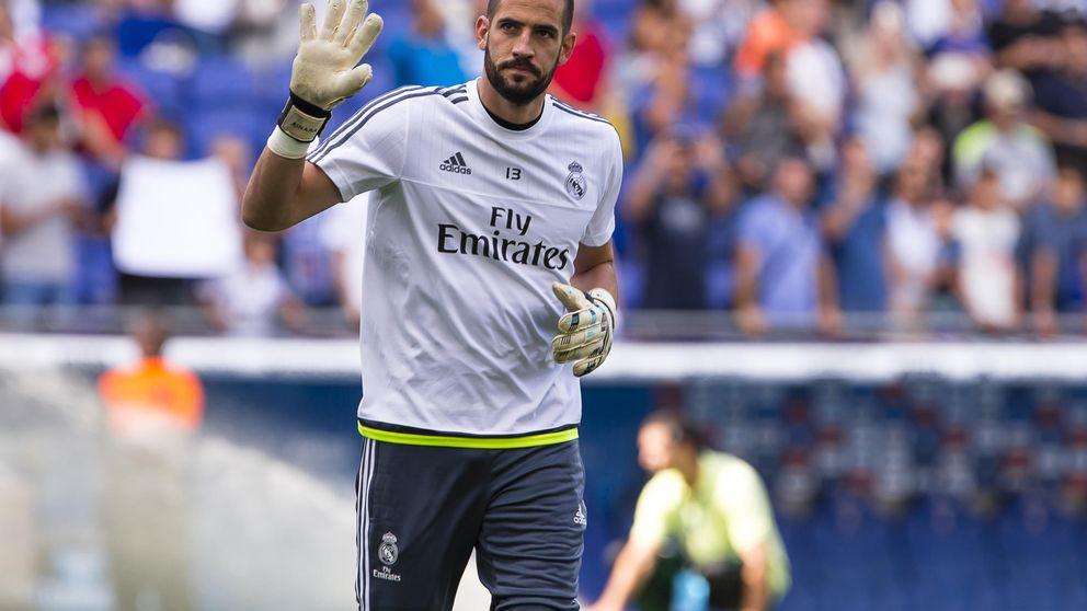Por fin el día que Kiko Casilla creyó que llegaría antes: ser titular en el Madrid