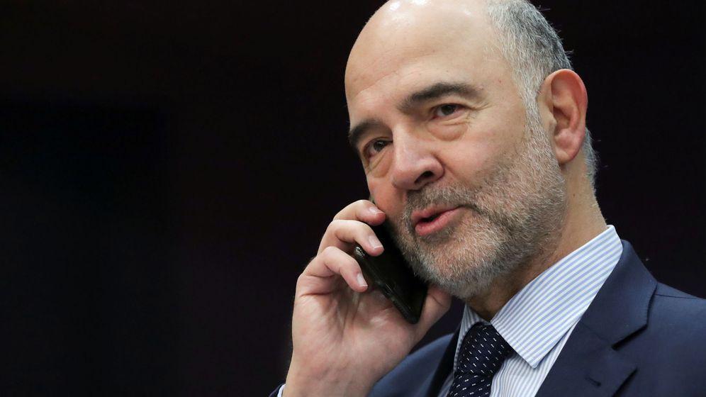Foto: El comisario europeo de Asuntos Económicos, Pierre Moscovici (Reuters).