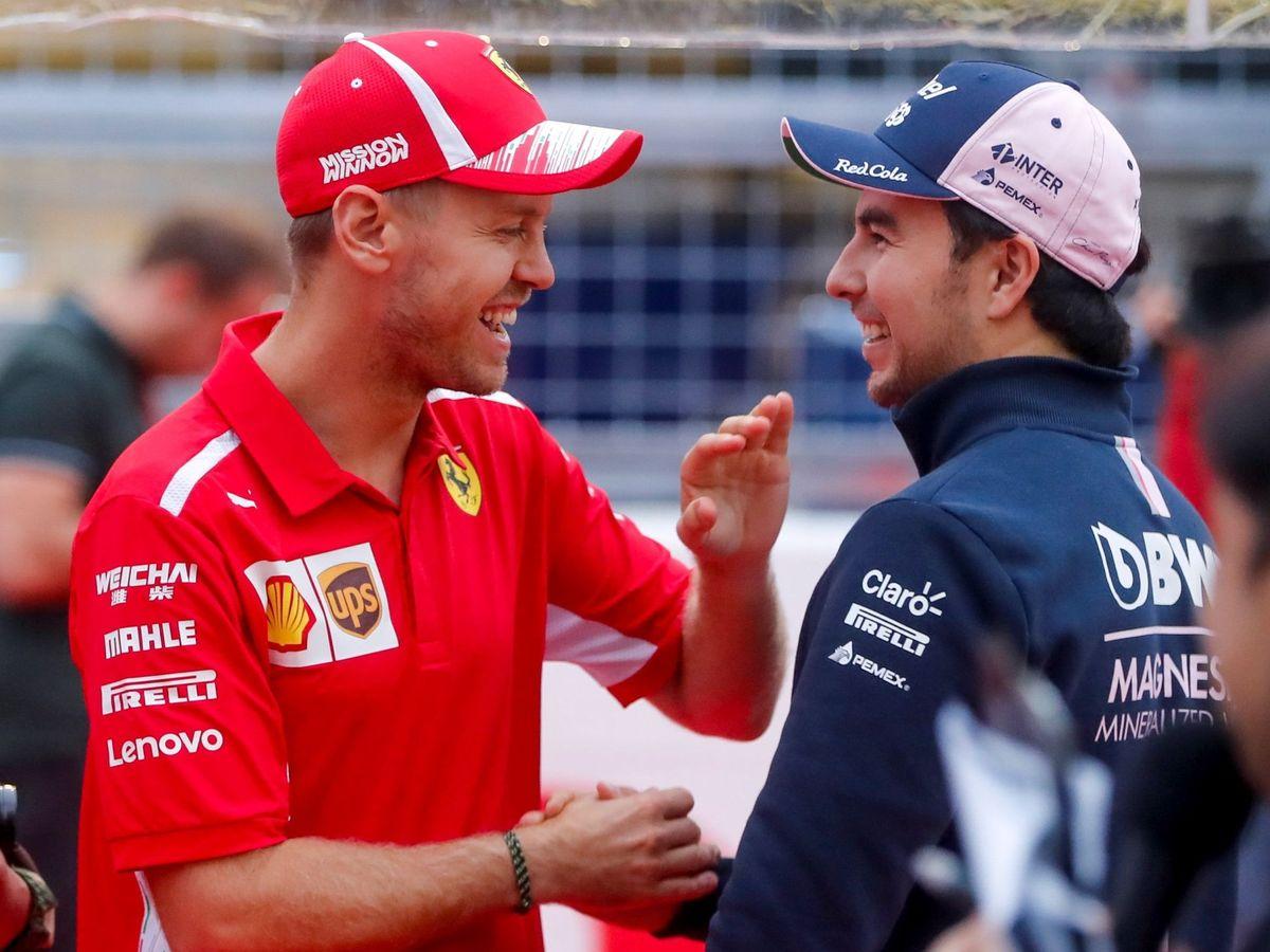 Foto: Vettel sustituirá a Pérez en Aston Martin en 2021. (EFE)