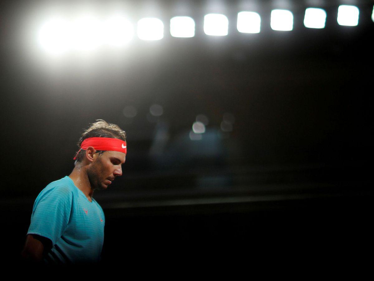 Foto: Rafa Nadal, durante un partido de Roland Garros. (Reuters)