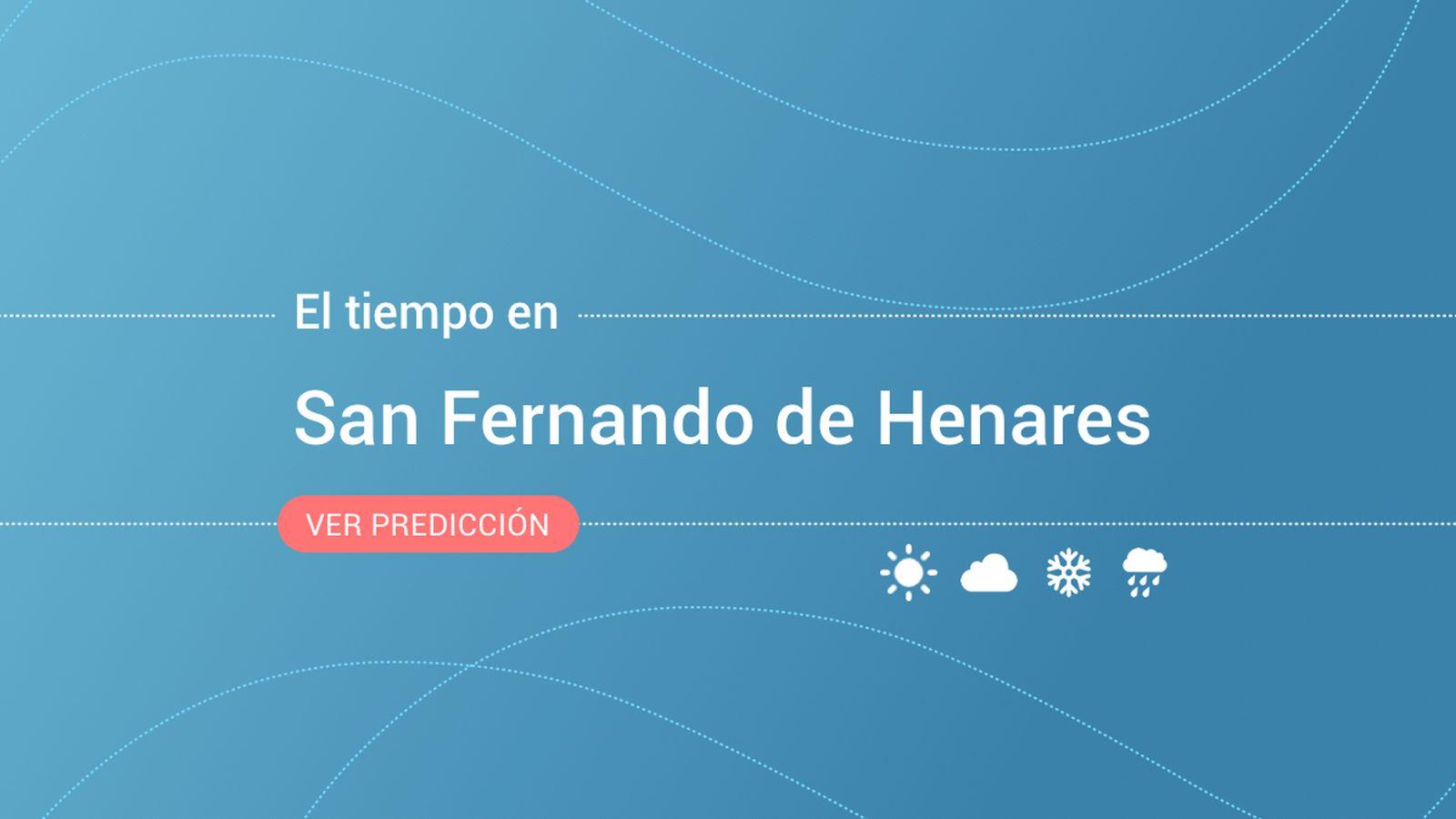 Foto: El tiempo en San Fernando de Henares. (EC)