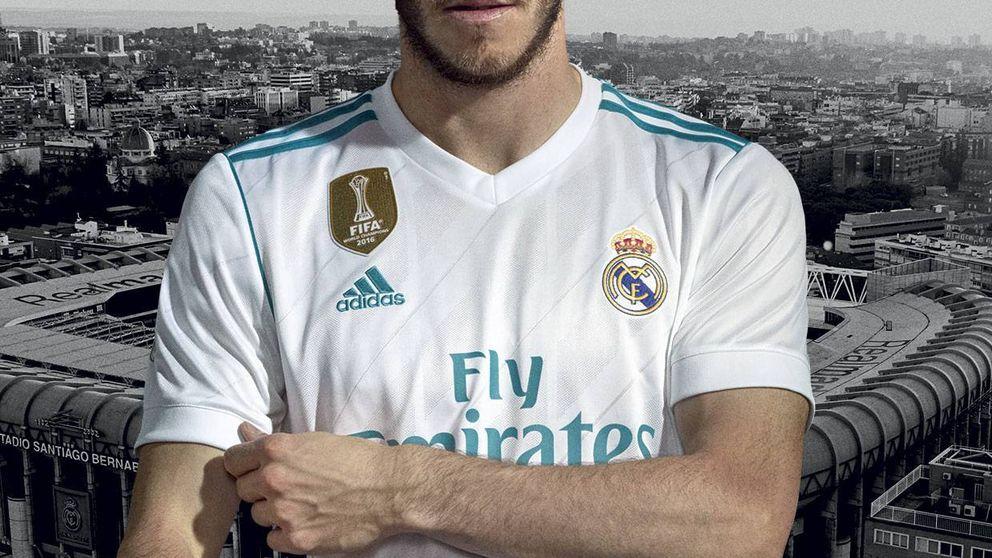 La camiseta del Real Madrid para la próxima temporada 2017 - 2018