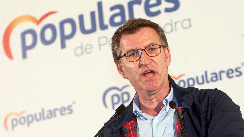 Foto: El presidente de la Xunta y del Partido Popular gallego, Alberto Núñez Feijóo. (EFE)