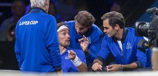 Post de Solo en la Laver Cup: Rafa Nadal y Roger Federer, una pareja de entrenadores única