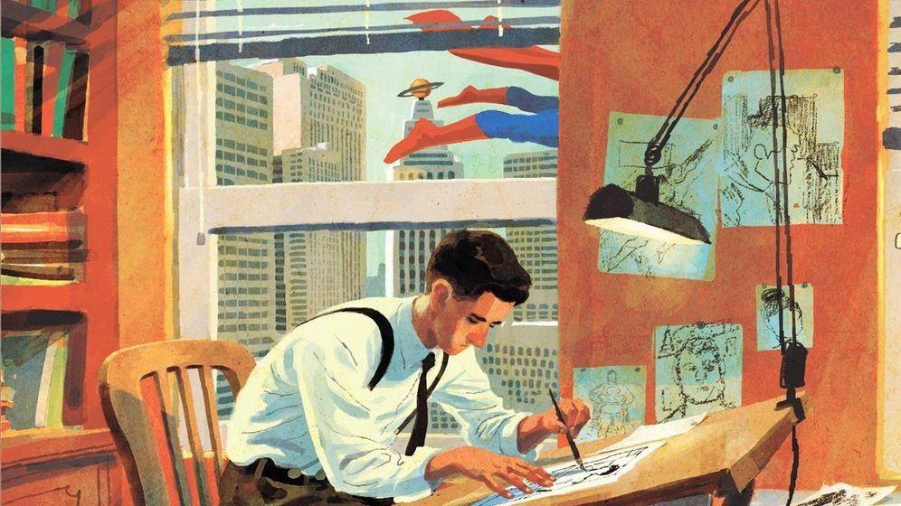 Foto: Portada del cómic 'Joe Shuster, una historia a la sombra de Superman'. (Dibbuks)