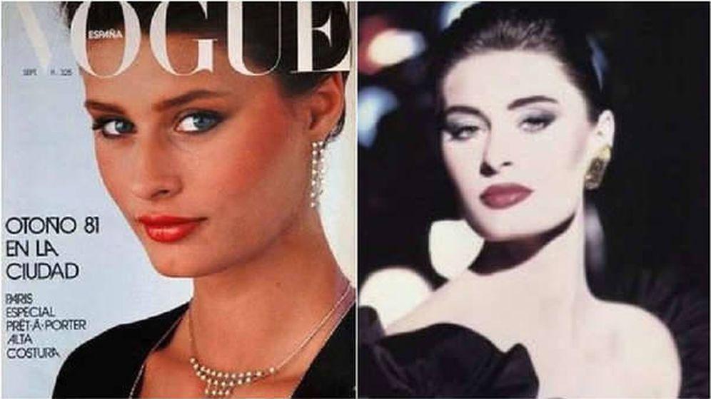 Foto: La modelo, en su época de gloria. (Vogue)