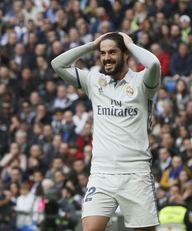 Foto: Isco está siendo uno de los más destacados del Madrid en los últimos partidos (Fernando Alvarado/EFE).