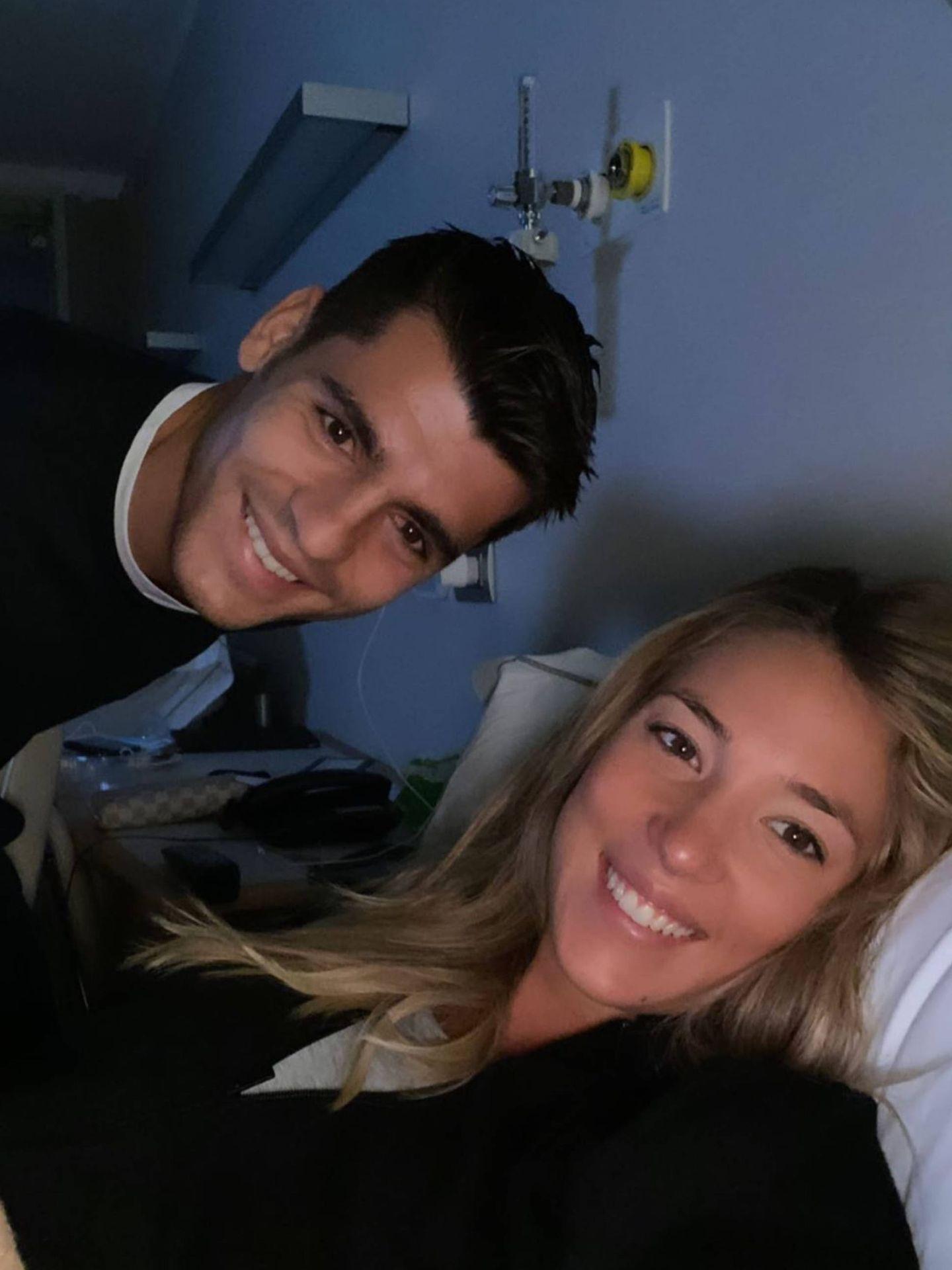 Alice Campello y Álvaro Morata, padres de nuevo. (Instagram @alicecampello)
