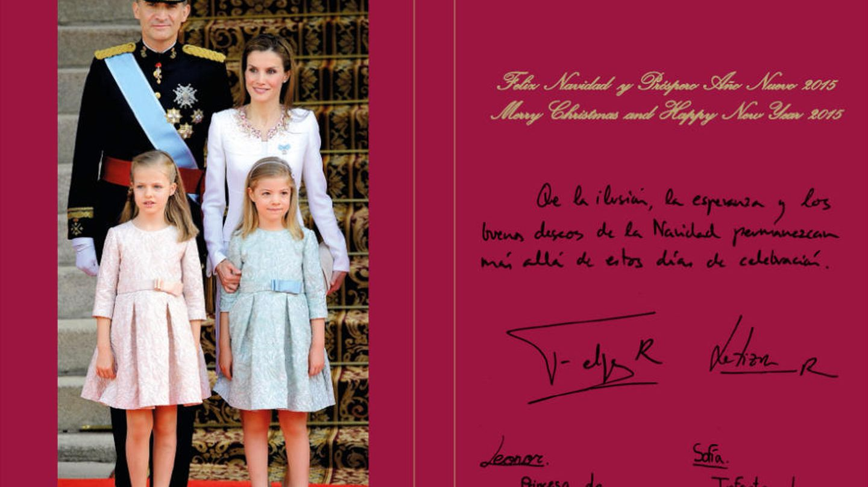 Felicitación navideña de los Reyes de España