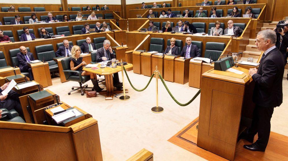 Foto: Foto de archivo del Parlamento vasco. (EFE)
