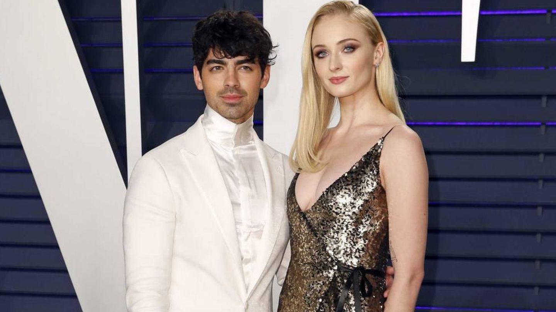 Joe Jonas y Sophie Turner. (Reuters)