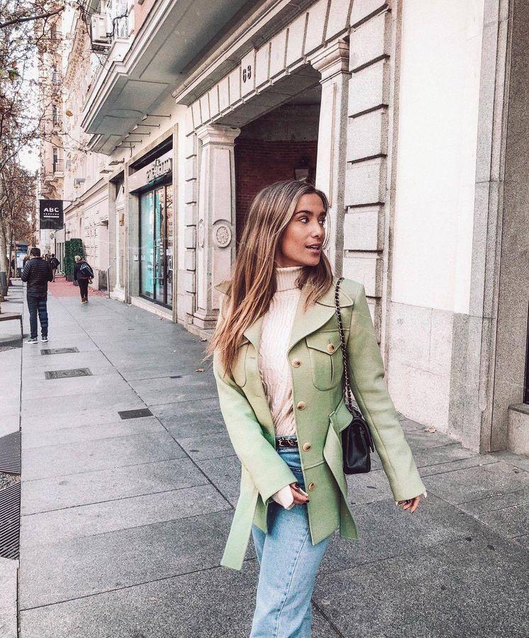 Foto: María Pombo es una de las influencers que ya la llevan. (Instagram)