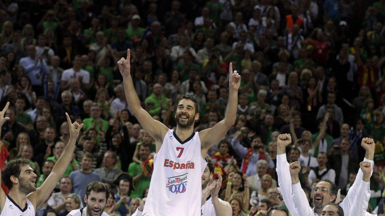 El EuroBasket 2011, su mejor torneo con la selección: fue elegido 'MVP'. (EFE)