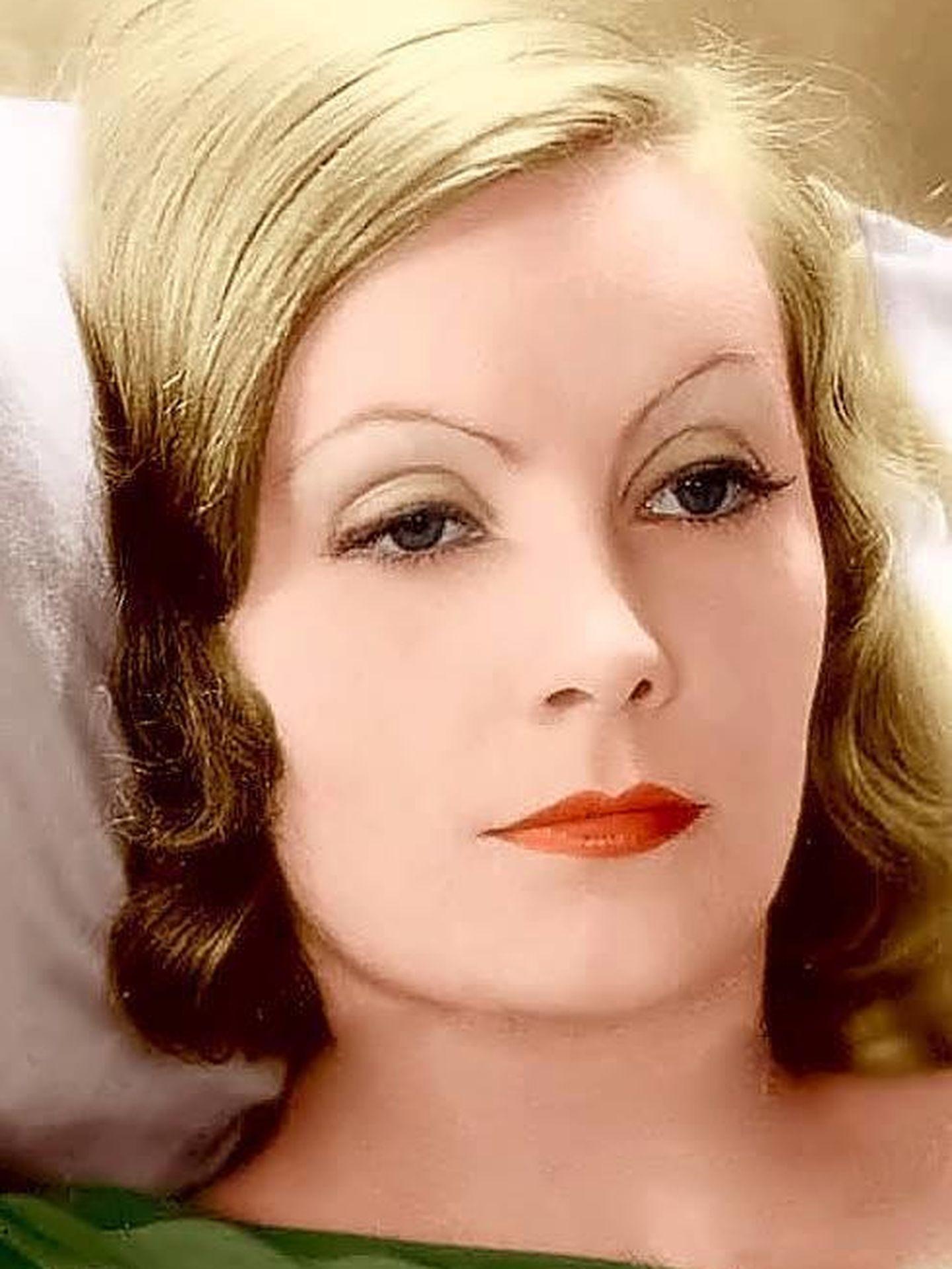 Greta Garbo, en una foto publicitaria de MGM.