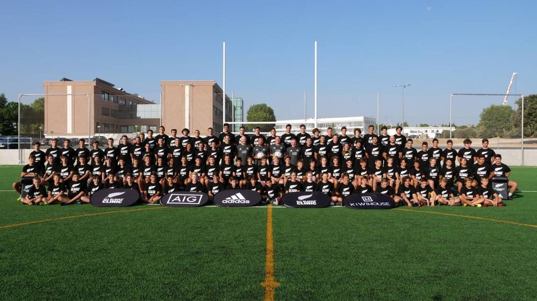 Este año, el All Blacks Clinic tendrá dos grupos: uno en Sevilla y otro en Sierra Nevada. (Foto: All Blacks Clinic)