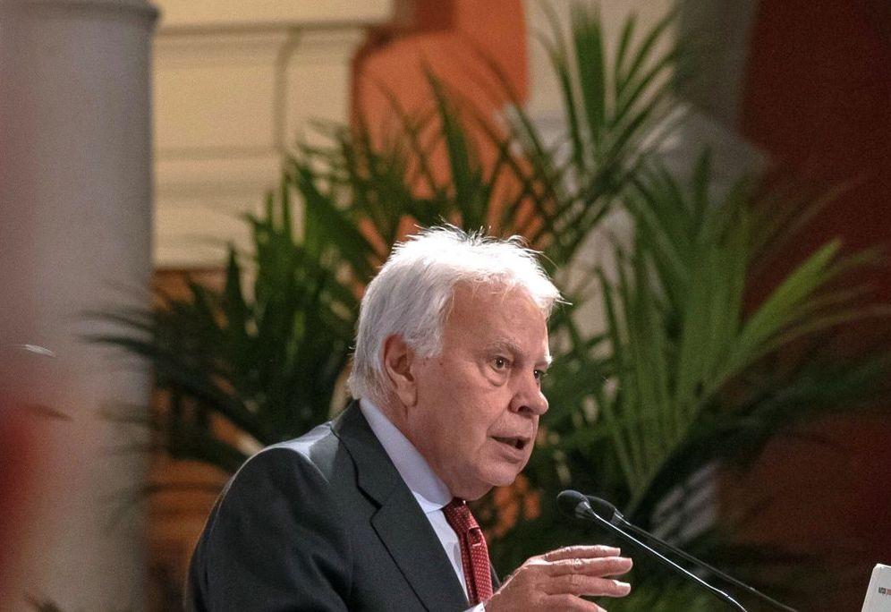 Foto: El expresidente Felipe González, el pasado 15 de noviembre en Sevilla. (EFE)