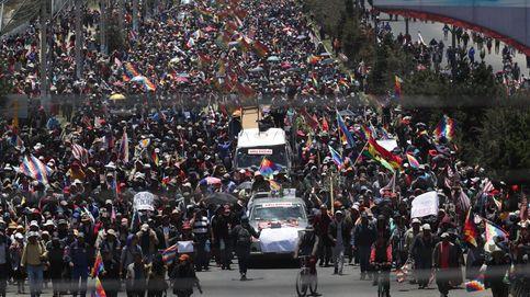 Marcha masiva de El Alto hacia La Paz