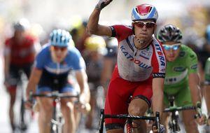 Kristoff se empeña en reclamar su título de rey del sprint en el Tour