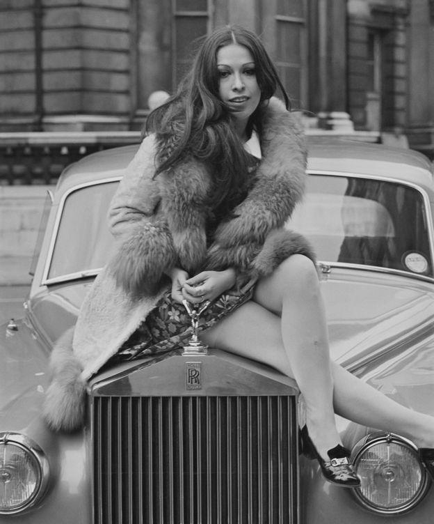 Foto: Massiel, en abril de 1968 en Madrid. (Getty)
