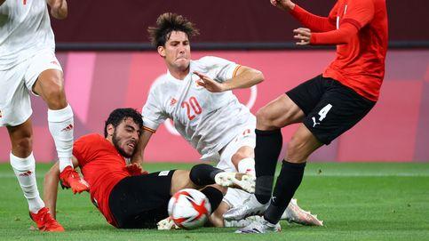 España se estrella contra la dureza de Egipto en el debut de los Juegos Olímpicos (0-0)