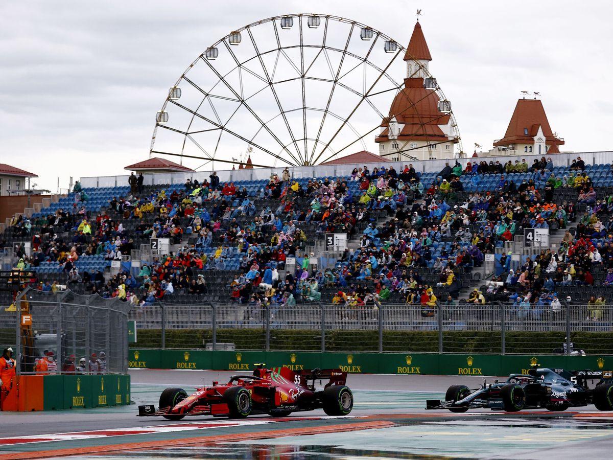 Foto: Carlos Sainz, durante la clasificación. (Reuters)
