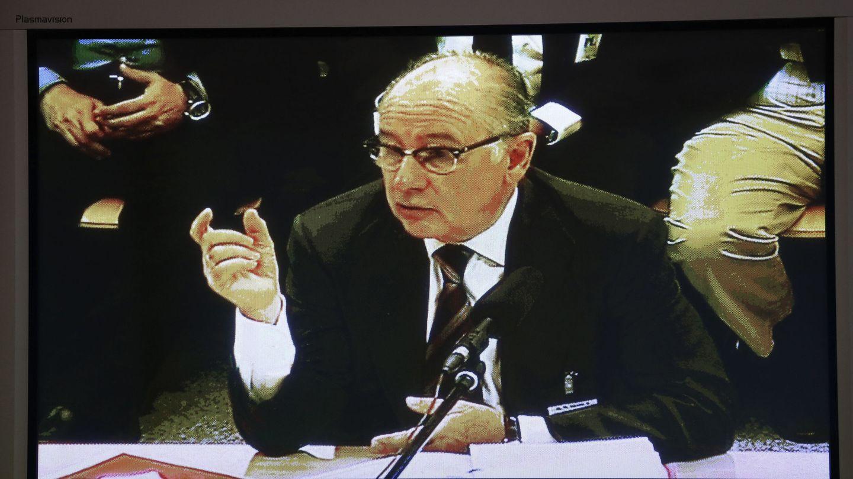 Rodrigo Rato declara en el juicio. (EFE)
