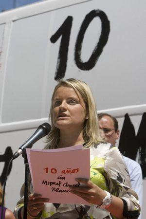 La ausencia de Rajoy en la manifestación en memoria de Blanco desata la polémica