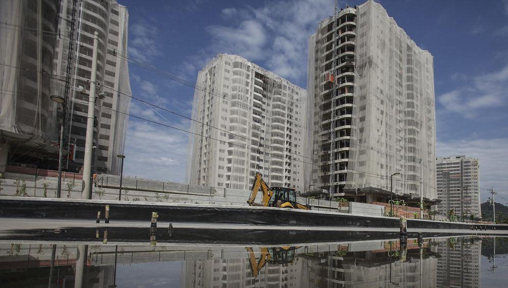 Foto: Construcción de pisos en España. (EFE)