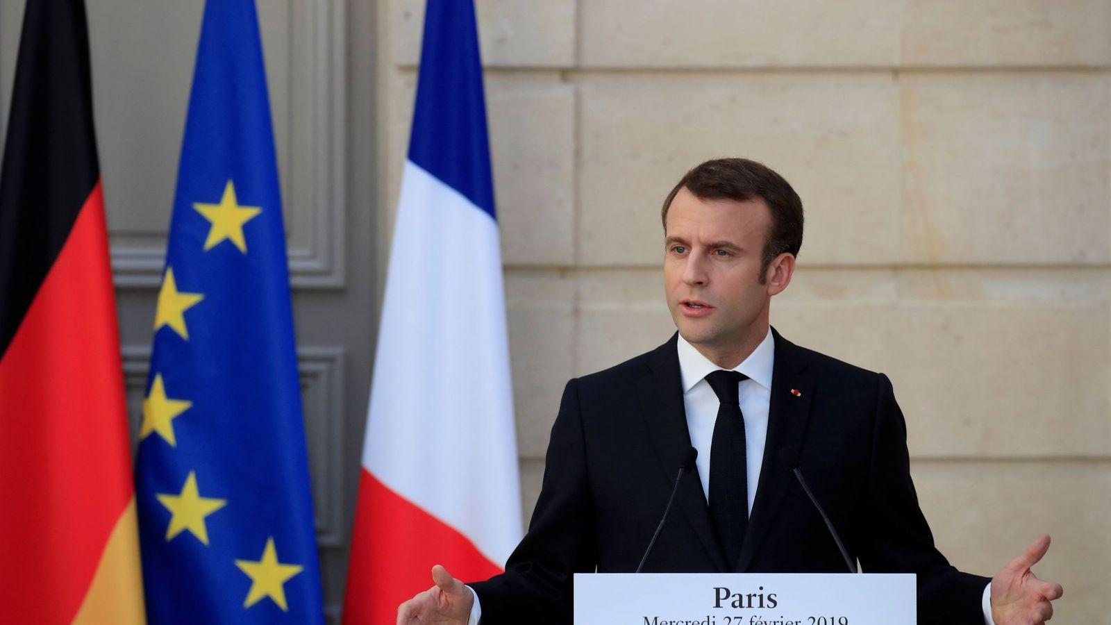 Foto: Emmanuel Macron. (EFE)