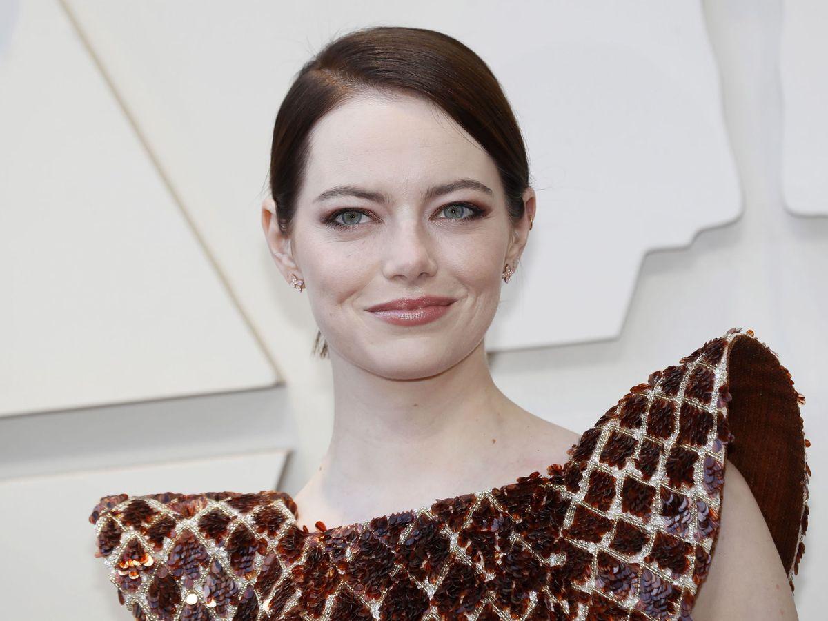 Foto: Emma Stone, en los Premios Oscar. (EFE)