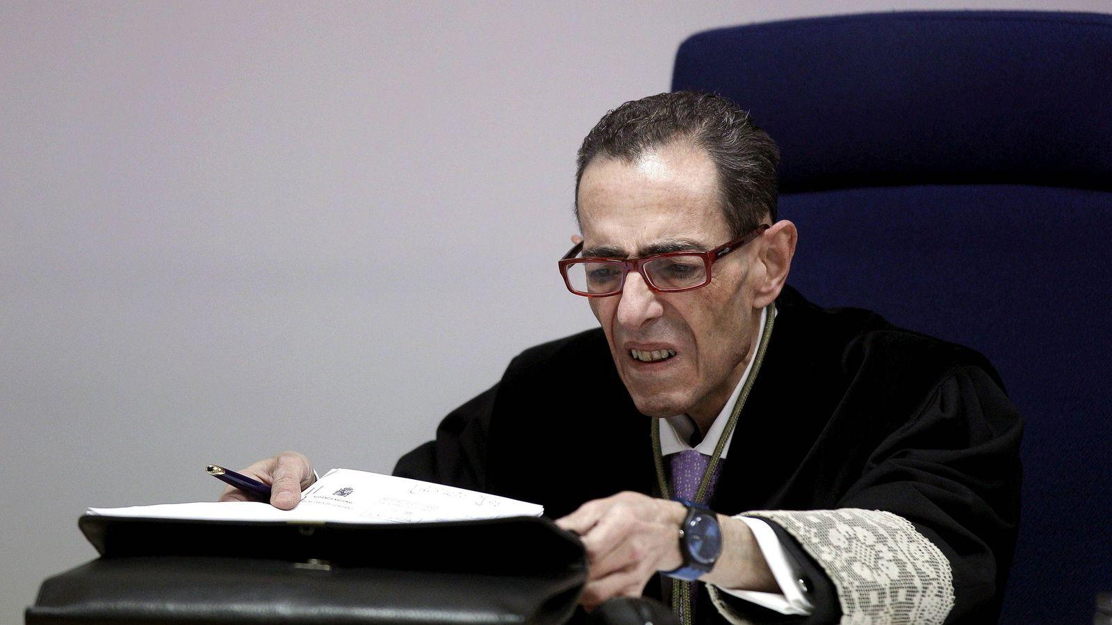 Foto:  El magistrado Alfonso Guevara. (EFE)