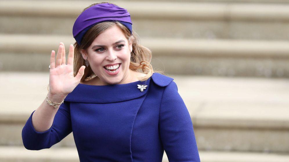 Foto: Beatriz de York, en la boda de su hermana. (Reuters)