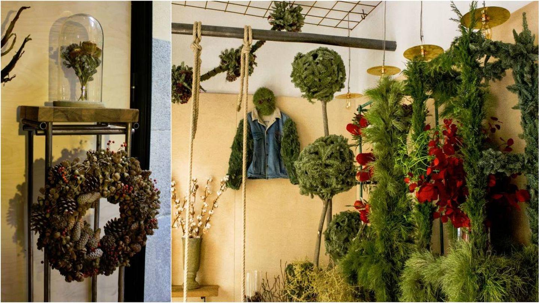 Imágenes del interior de la tienda Flores Carlos de Troya, ya lista para la Navidad. (Fotos: Cortesía)