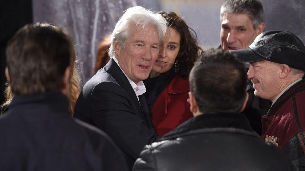 Richard Gere y Alejandra Silva, juntos en el estreno de 'Invisibles'
