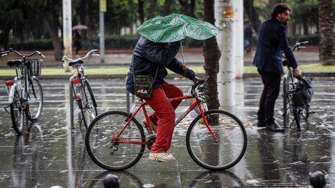 Saca el paraguas: fin de semana de lluvia con caída brusca de temperaturas