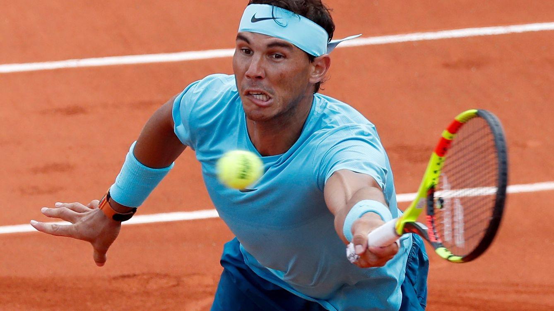 cadf9835d0 Rafa Nadal gana a su admirador (y peleón) Marterer en tres sets