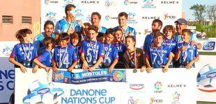 Post de El Móstoles dio en la diana en la Fase Centro de la Danone Nations Cup