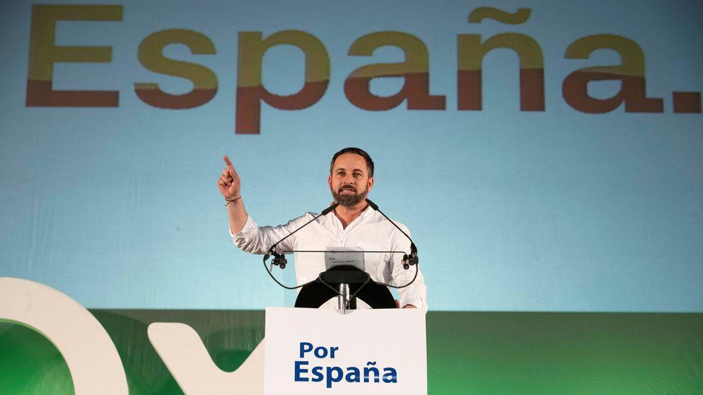 Foto: Mitin de Vox en Murcia. (Efe)
