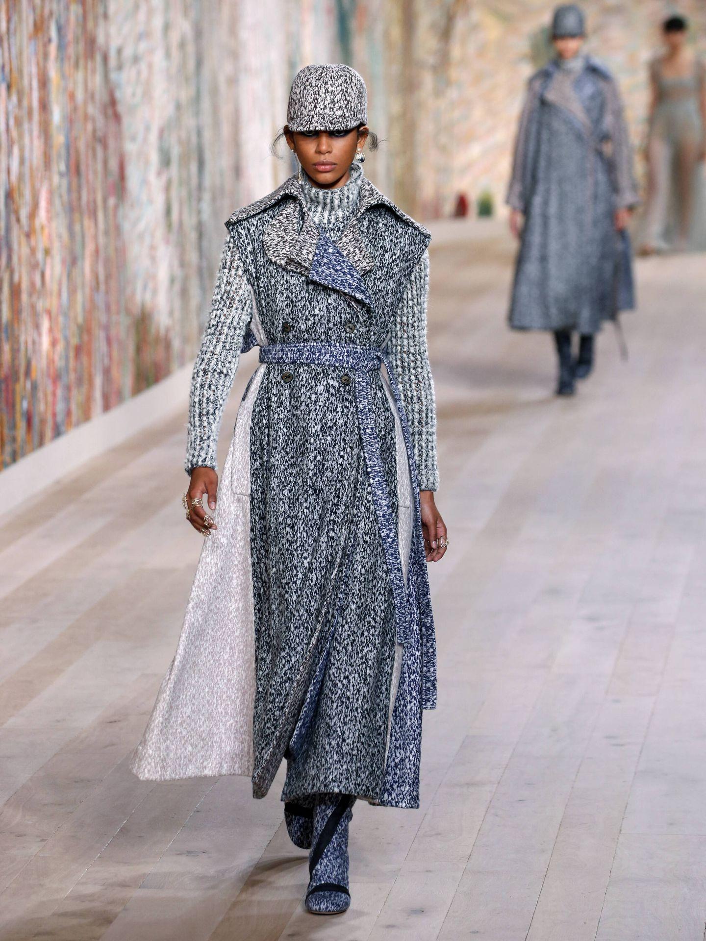 Desfile de Dior Haute Couture Fall/Winter 2021/2022 en París. (Getty)