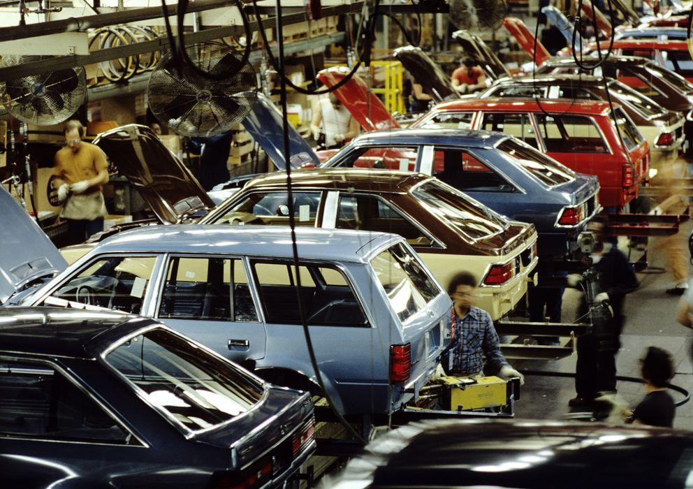 Foto: Hamper trabajó en la cadena de ensamblaje de automóviles durante los años ochenta. (Corbis)