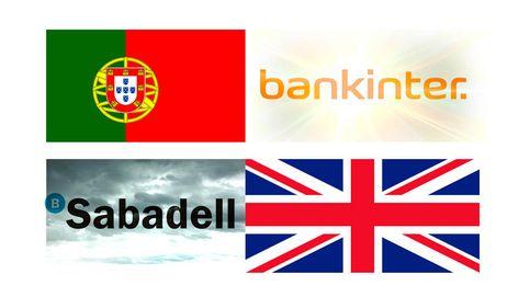 Bankinter brilla con Portugal mientras Sabadell sufre con Reino Unido