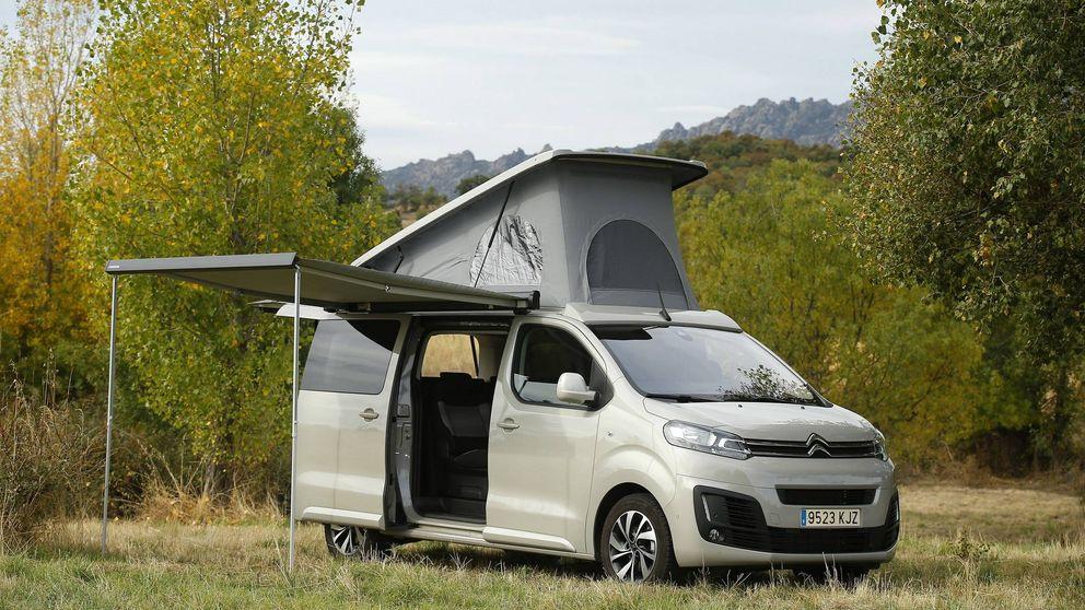 Por qué la furgoneta Citroën Space Tourer es la mejor opción a una autocaravana