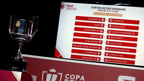 Sorteo de la Copa del Rey: horario y dónde ver 'online' cómo quedan los cuartos de final