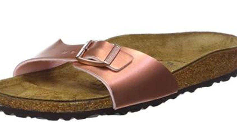 Las sandalias de Birkenstock a la venta en Amazon. (Cortesía)