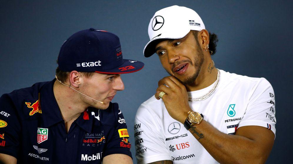 Foto: Verstappen podría ser el relevo de Hamilton en Mercedes. (Reuters)