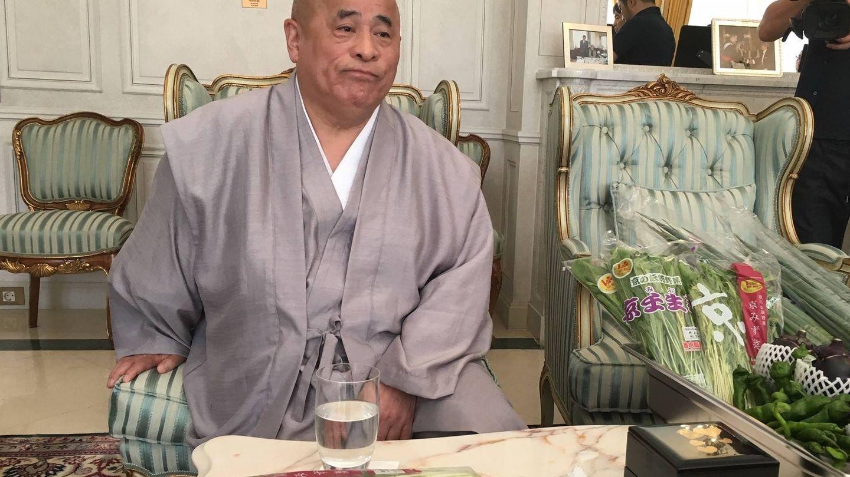 Sr. Nakagawa, presidente de Cooperativas Agrarias de Kioto.
