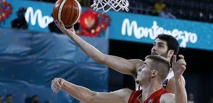 Post de Álex Abrines, baja contra la República Checa por un golpe en la rodilla