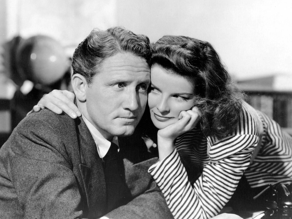 Foto: Spencer Tracy y Katharine Hepburn. (Cordon Press)